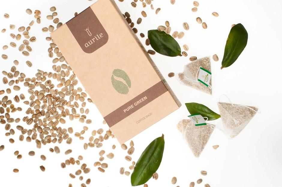 Kawa naturalna zielona Aurile